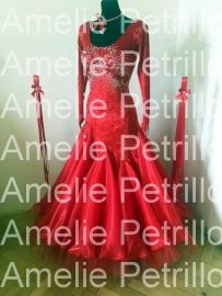 vna0075 FRUIT OF LOVE ballroomdress