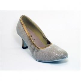 "1000L CINDINI  ballroom ladies danceshoe with Sparkle heel 2.5"""