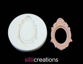 M0047 Sillicreations Mould | Cameo Frame