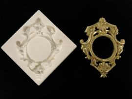 M0078 Sillicreations Mould | Precious Frame