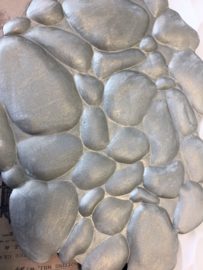 M0145 Sillicreations Mould | Impression Mat Pebbles
