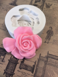 M0144 Sillicreations Mould | Vintage Rose 38mm 1.5""