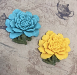 "M0146 Sillicreations Mould | Vintage Flower 38mm 1.5"""