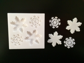 M0091 Sillicreations Mould | Snowflakes