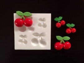 M0113 Sillicreations Mould | Cherries