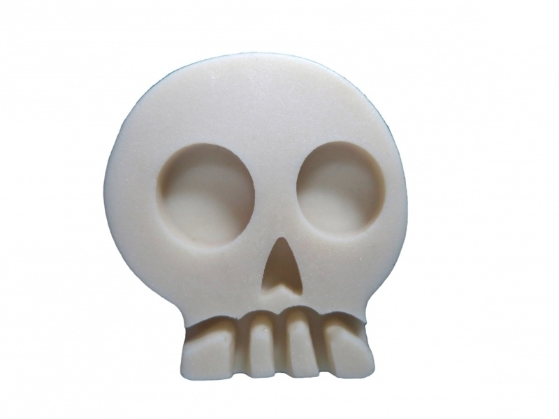 M0049 Sillicreations Mould | Skull 40x35mm