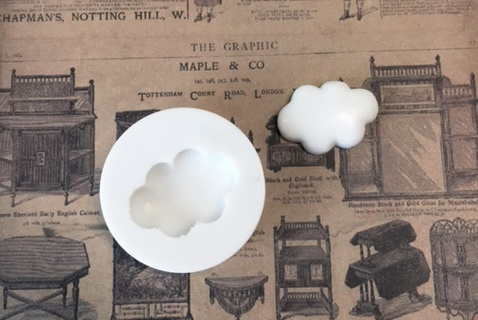 M0068 Sillicreations Mould |  Fluffy Cloud