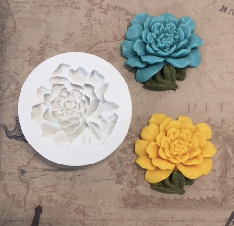 M0146 Sillicreations Mould | Vintage Flower 38mm 1.5""