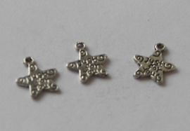 73001 Ster met tekst Just for you 13x11 mm