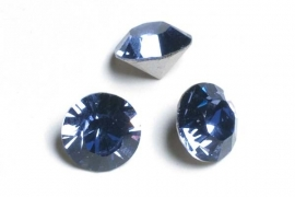 34112 Tanzanite SS39 simili 8 mm