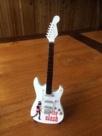 G2016006 The Clash decoratie gitaar