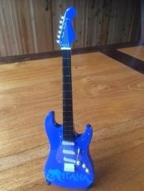 G2016041 Santana decoratie gitaar