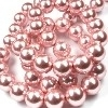 42009 Parel licht roze rond  10 mm