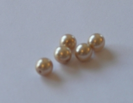40004 Parel champagne rond 6 mm