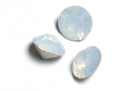 34103 White opal SS39 simili 8 mm