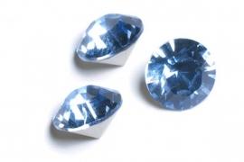34108 Light Sapphire SS39 simili 8 mm