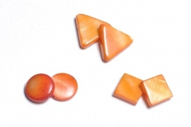 90201+90207 Parelmoer plat oranje