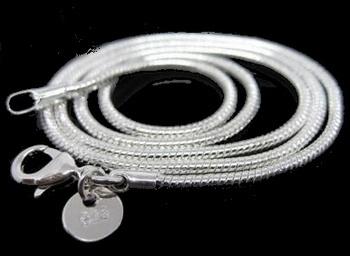 2 mm zilveren ketting