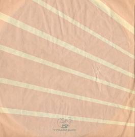 GEBOORTEKAARTJE PLATENHOES EP MEISJE 'EMMA SINGLE'