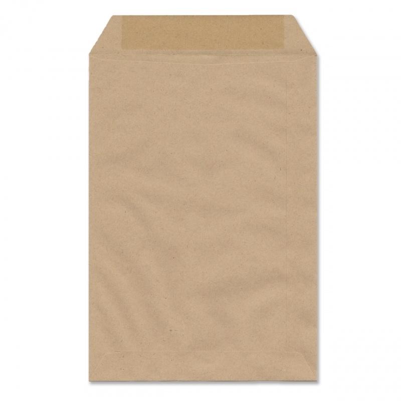 Envelop bruin kraft (grootste formaat kaartje)