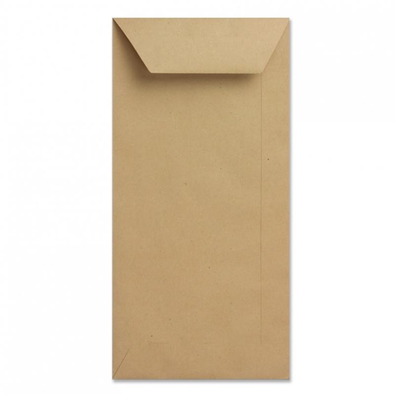 Envelop bruin kraft langwerpig