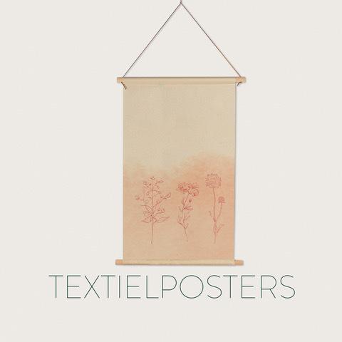 Textielposters en Schoolplaten