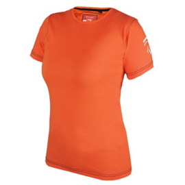 KNHS DAMES T-SHIRT FAN NL (ORANJE)