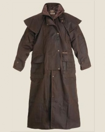 Oilskin Coat long drover
