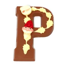 Chocoladeletter Deco met LOGO (vanaf 50 st) A-Z.  Vanaf EUR  5,18 excl. btw.