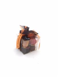 Herfst doos bonbons 125 gram met kaartje (vanaf 5,25)
