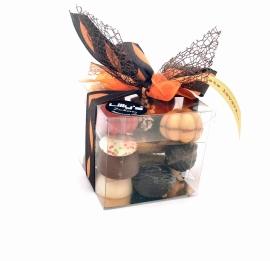 Herfst doos bonbons 250 gram met kaartje (vanaf 8,95)