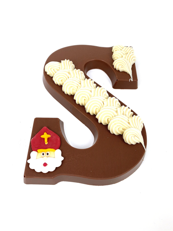 Chocoladeletter Luxe (A-Z). Vanaf EUR 5,30 excl. btw