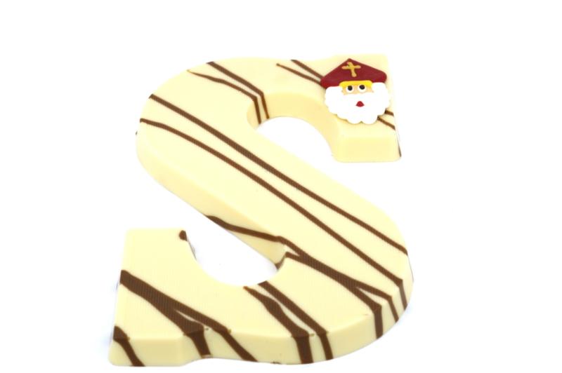 Chocoladeletter Gemarmerd  (A-Z) Vanaf EUR 4,15 excl. btw