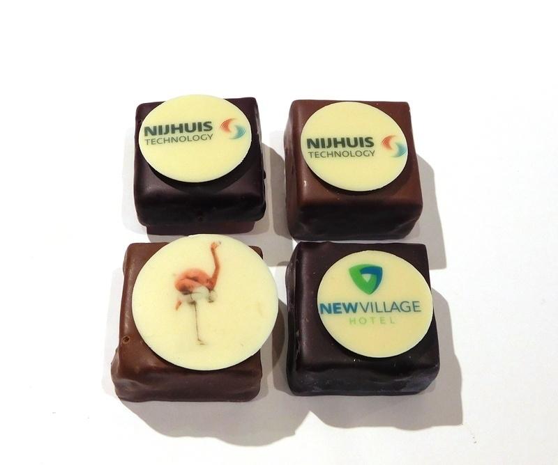 Bonbons met logo                                                           (vanaf EUR 0,90 per stuk  excl. btw)