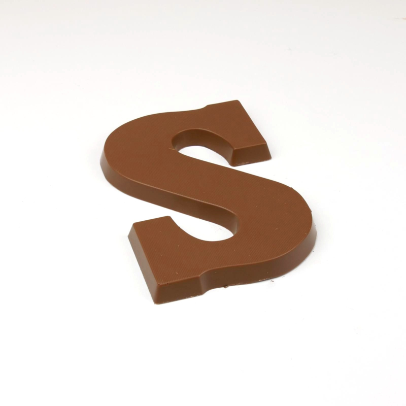 Chocoladeletter Massief (A-Z)  Vanaf EUR 3,75 (excl. btw)