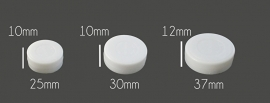 Rammelschijfje 30 mm middel
