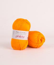 Phil coton 3 Mandarine 2740