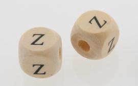 Letterkraal hout letter Z
