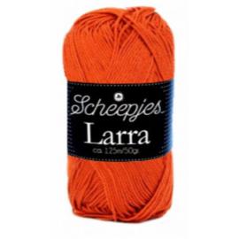 Scheepjeswol Larra 7423 Donker Oranje