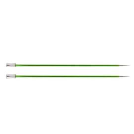 KnitPro Zing breinaald 3,50 mm met knop 25cm