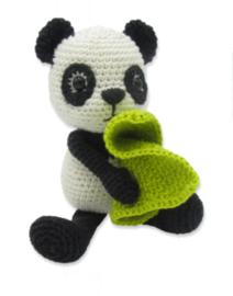 Haakpakket Panda Tom