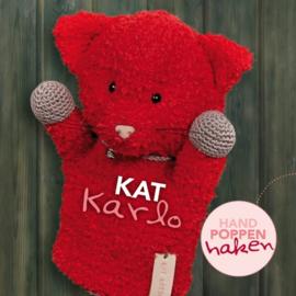 Haakpakket Kat Karlo uit boek Handpoppen haken Cute Dutch