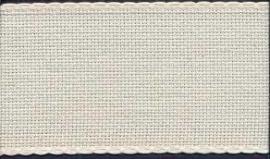 Aida borduurband 5 cm breed ecru