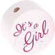 Houten kraal ''It's a Girl'' wit ''babyproof''