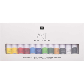 Rico Art Acrylic Paint heldere kleuren