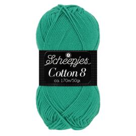 Cotton 8 Scheepjes 723 Smaragdgroen