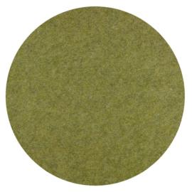 Vilt 3mm dik - groen lapje 30x15cm  voor Bloempot uit Jookz Jungle boek