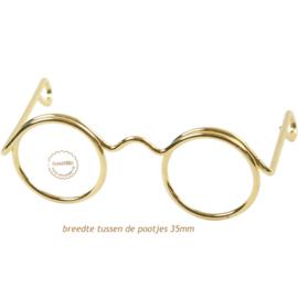 Bril 35 mm per stuk