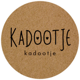 Kadosticker Kadootje 10 stuks