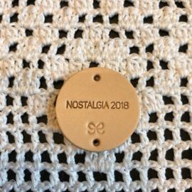 Ronde label Nostalgia 2018  naturel